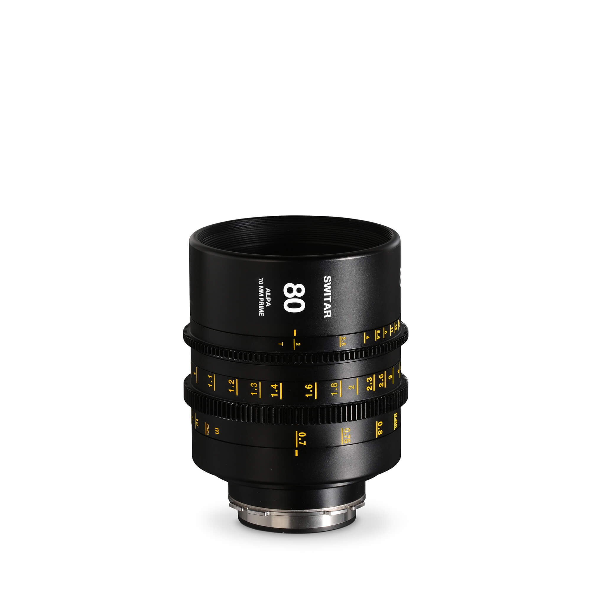 ALPA Switar 2.0/80 mm Cine Prime IC 70 mm - feet