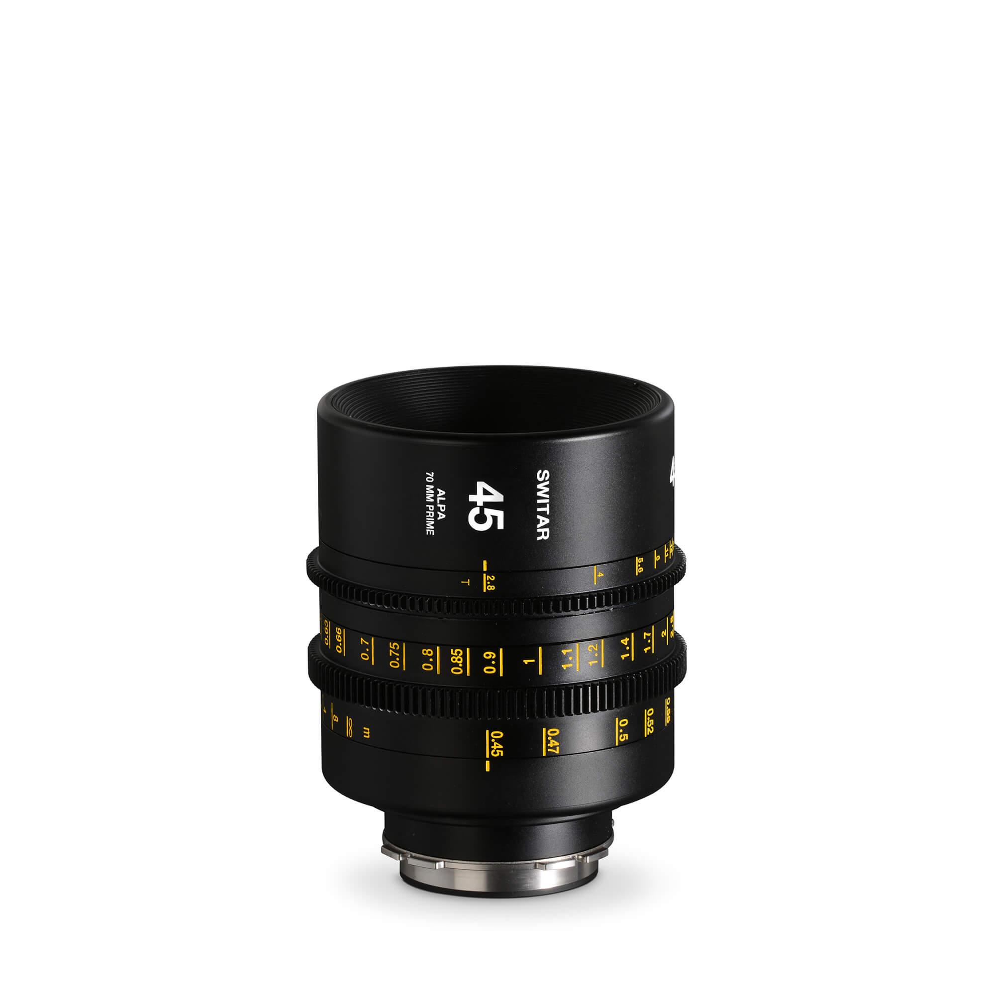 ALPA Switar 2.8/45 mm Cine Prime IC 70 mm - feet
