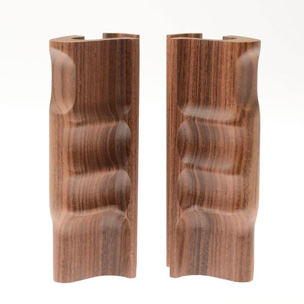 ALPA SWA hand grips, pair, rosewood natural