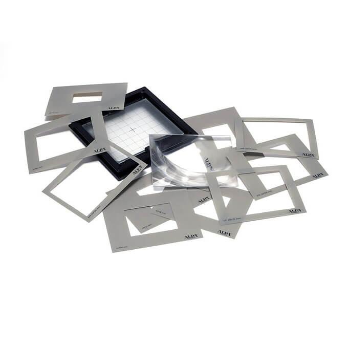 ALPA ground glass format mask (all formats)