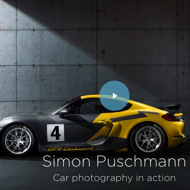 Car Photography in action by Simon Puschmann