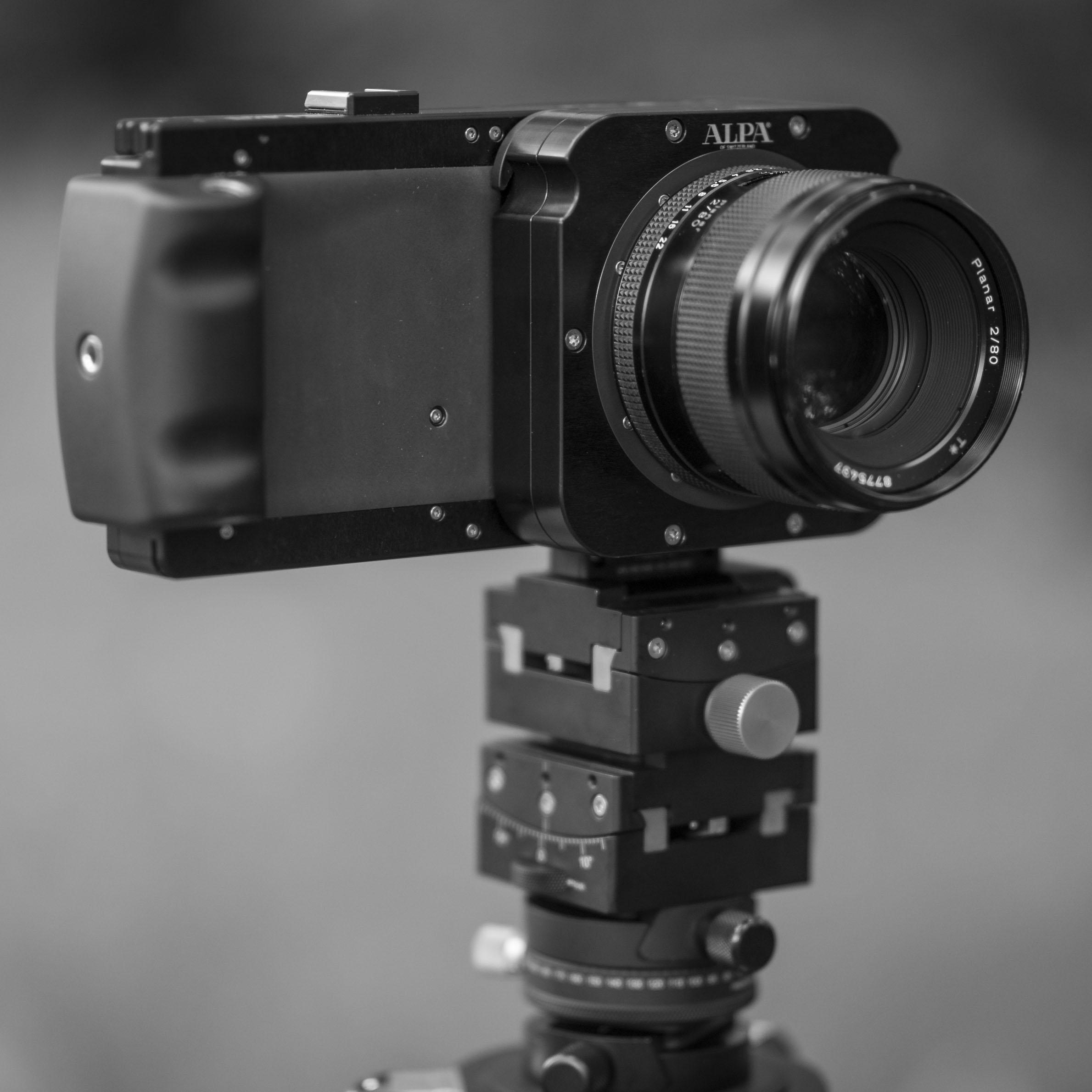 はじめにALPA レンズモジュール Contax 645