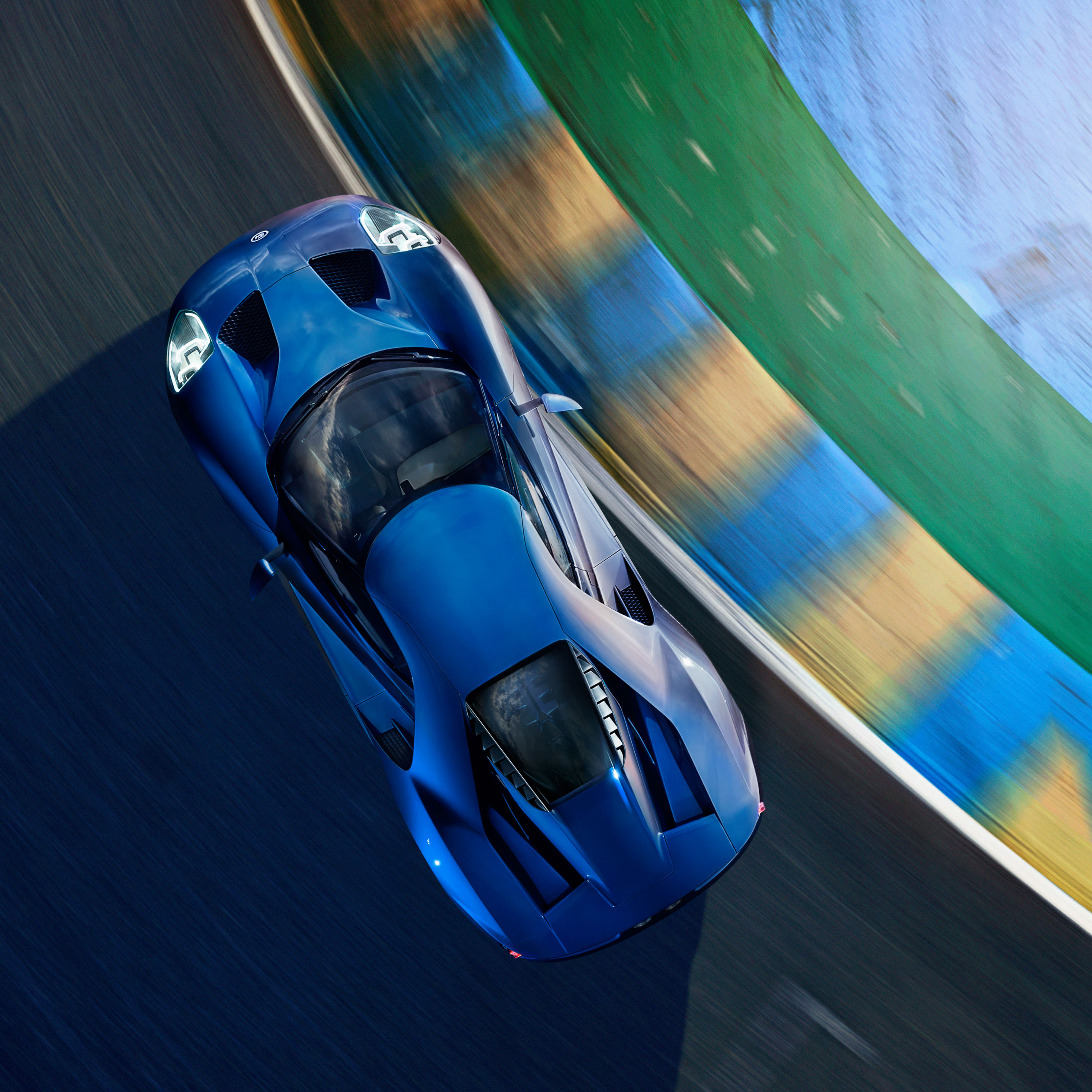 Ford GT in Le Mans