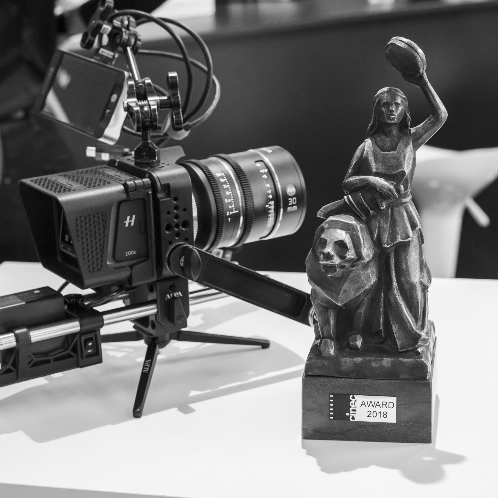 WE WON! PLATON wins cinecAward 2018