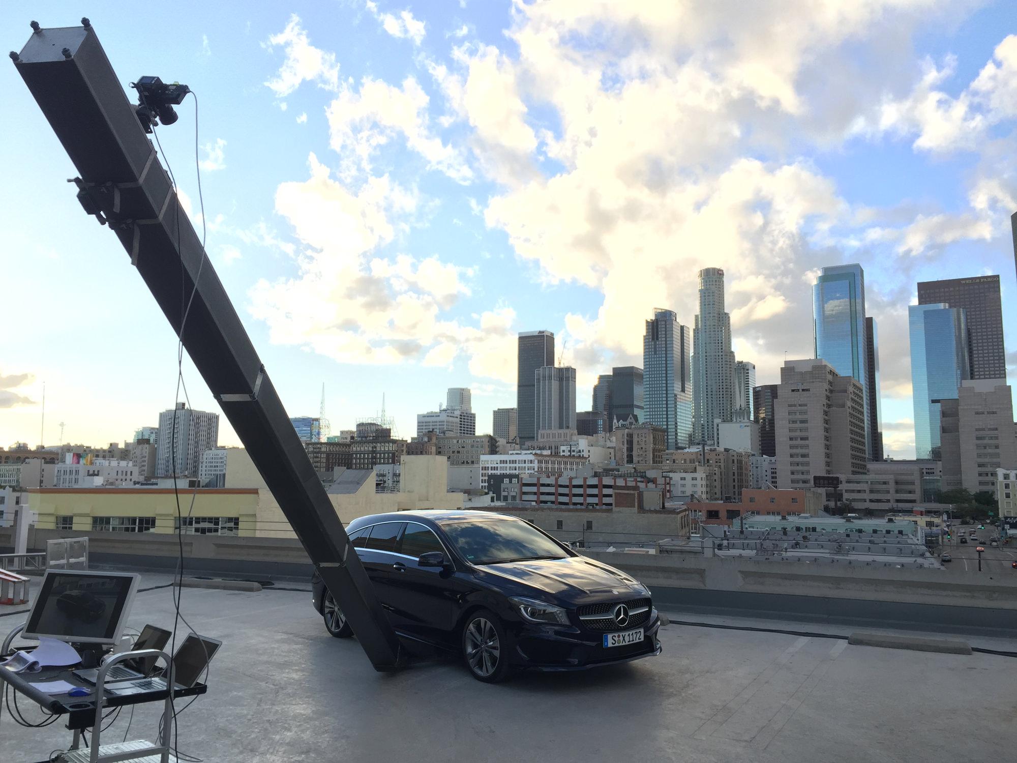 Wild Making-of Mercedes CLA
