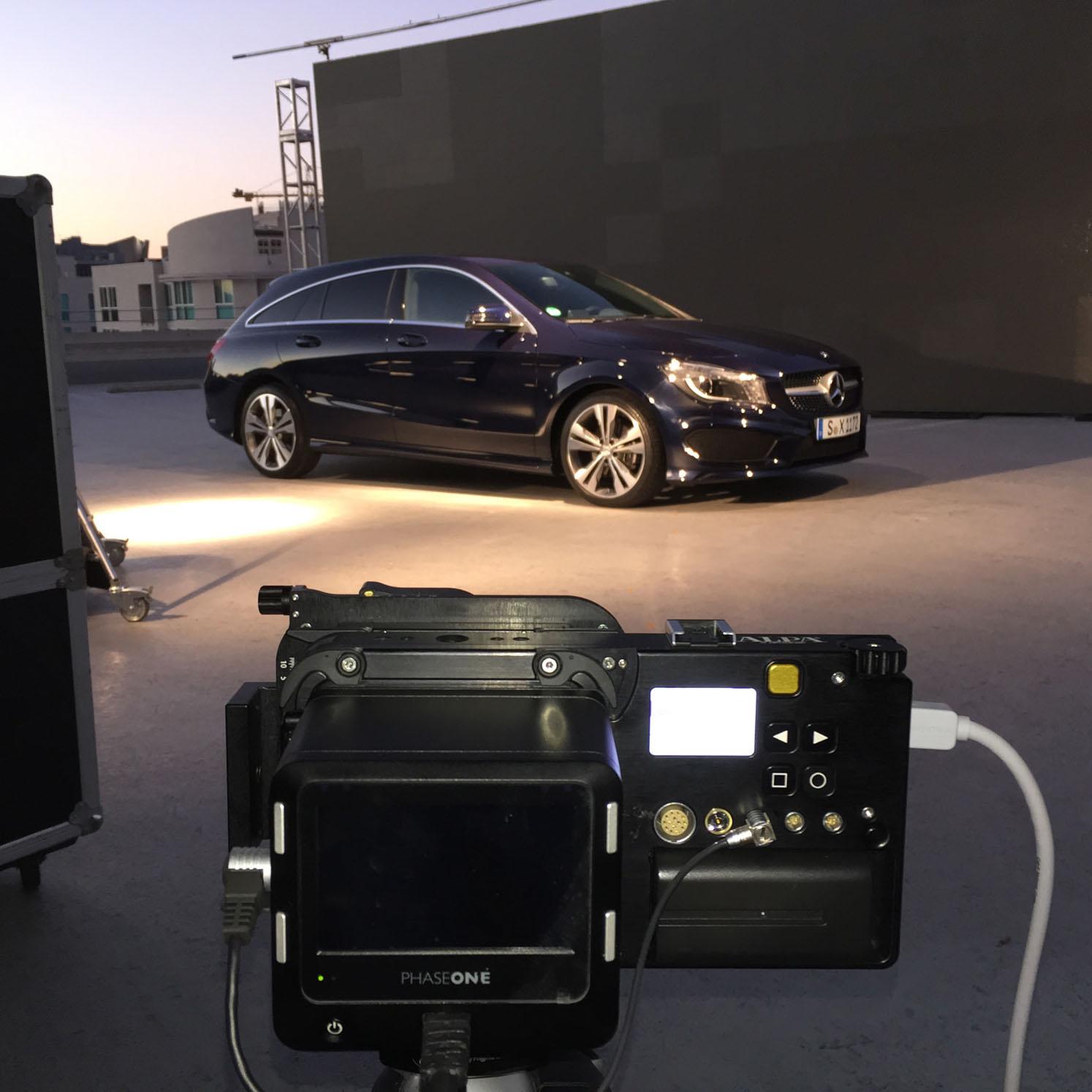 Making-of Mercedes CLA