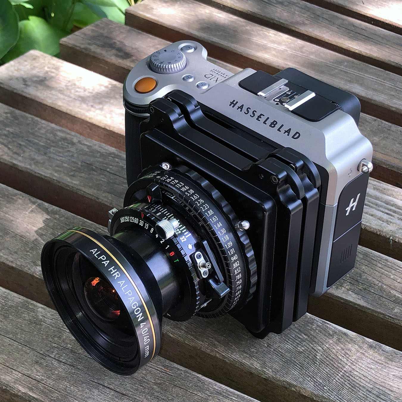 ALPA connects to Hasselblad X Cameras