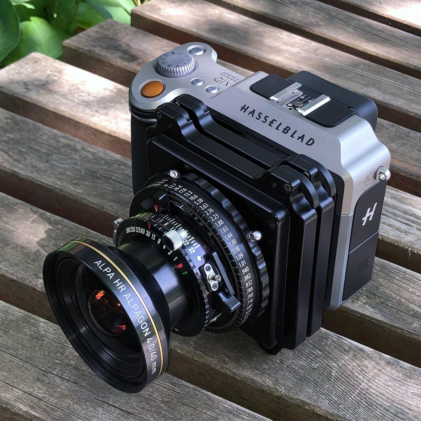 ALPA verbindet sich mit Hasselblad X-Kameras