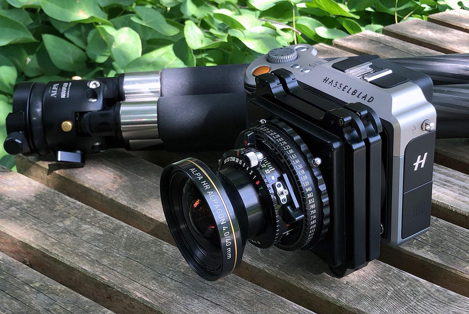 ALPA HR Alpagon 4.0/40 mm FPS SB17 combined with Hasselblad X1D ©ALPA André Oldani