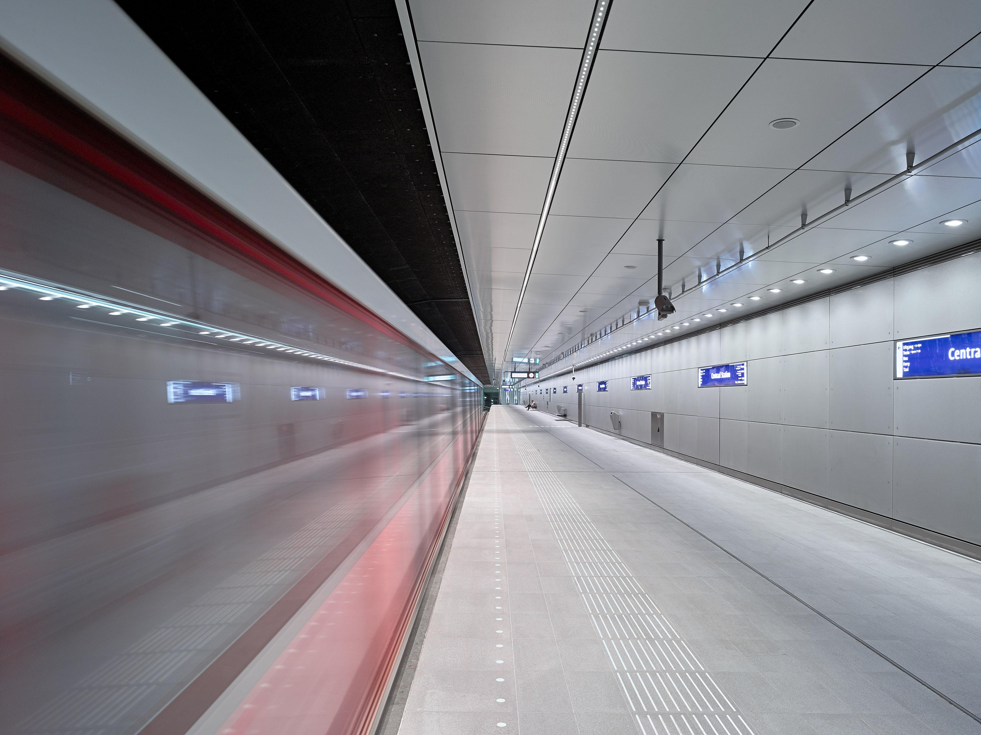 Noordijk North-South Metro Line Amsterdam