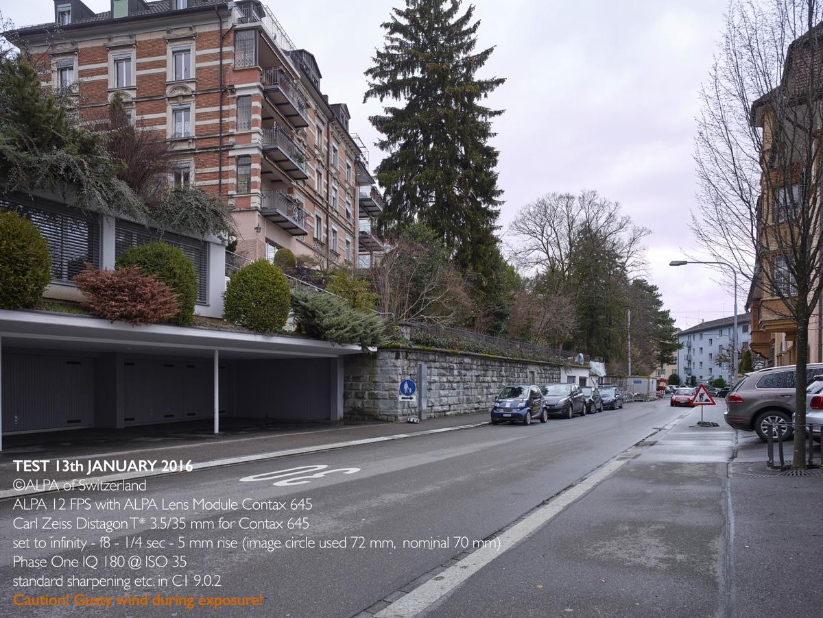 ALPA SAMPLE A - Carl Zeiss T* Distagon 3.5/35 mm, @ALPA André Oldani