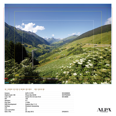 ALPA 12 FPS with Canon EF TS-E 24 mm f3.5