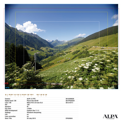 ALPA 12 FPS with Nikon PC-E 24 mm f3.5