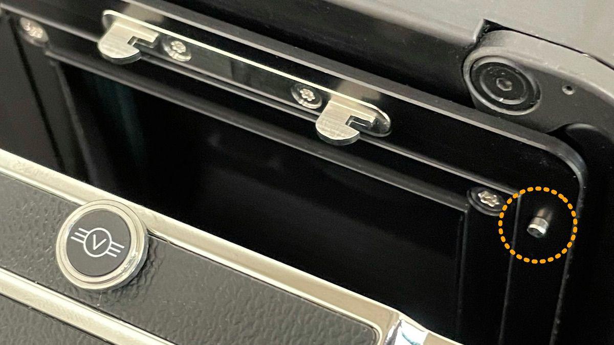 ALPA HAA Mk II Adjustable Digital Back Adapter with Locking Pin
