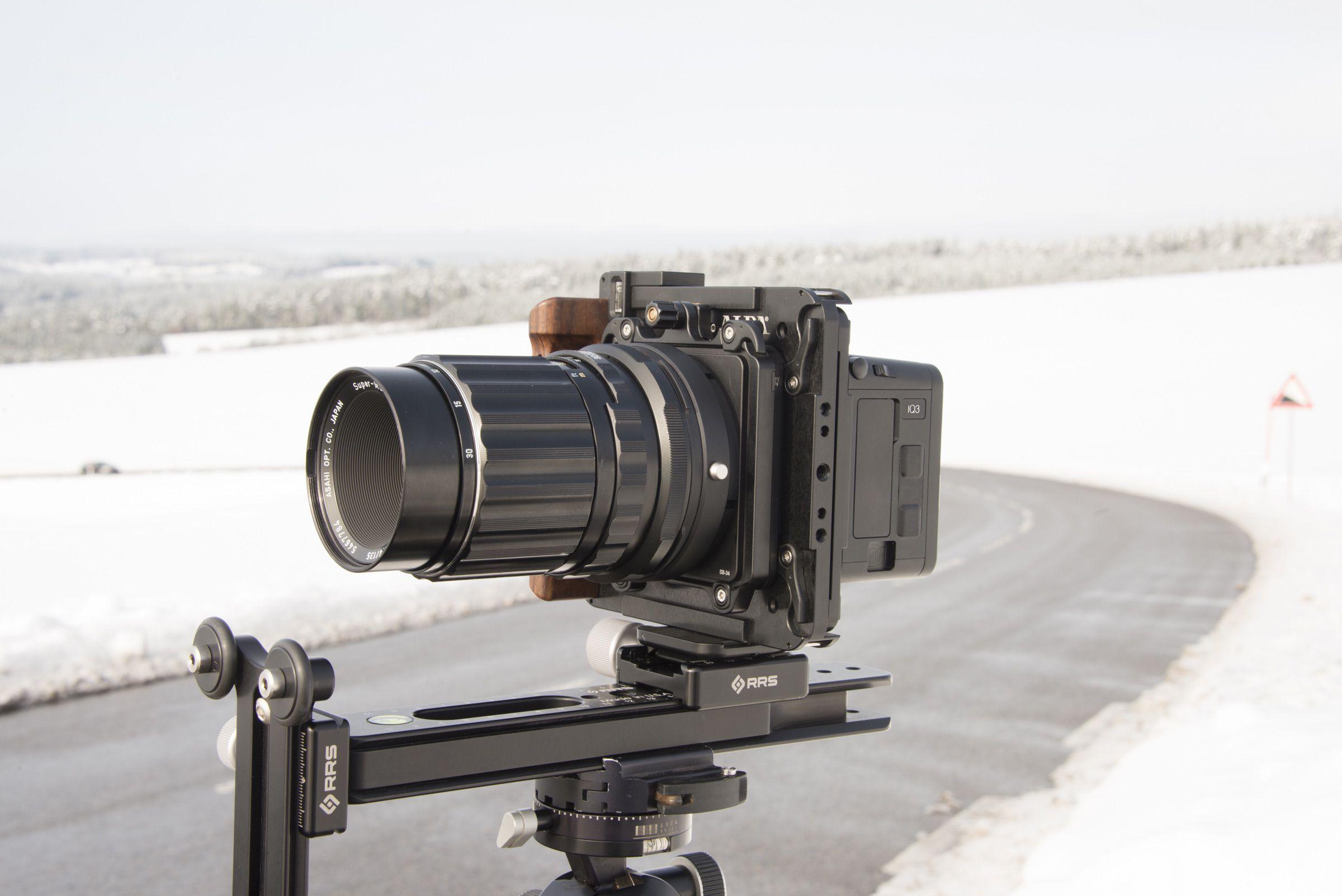ALPA 12 STC with Pentax SMC Makro Takumar 6X7 4.0/135mm