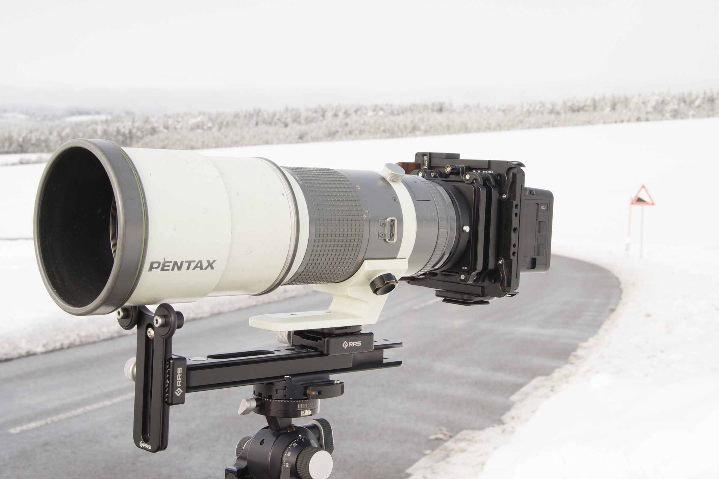 ALPA 12 STC with Pentax 67 400mm.