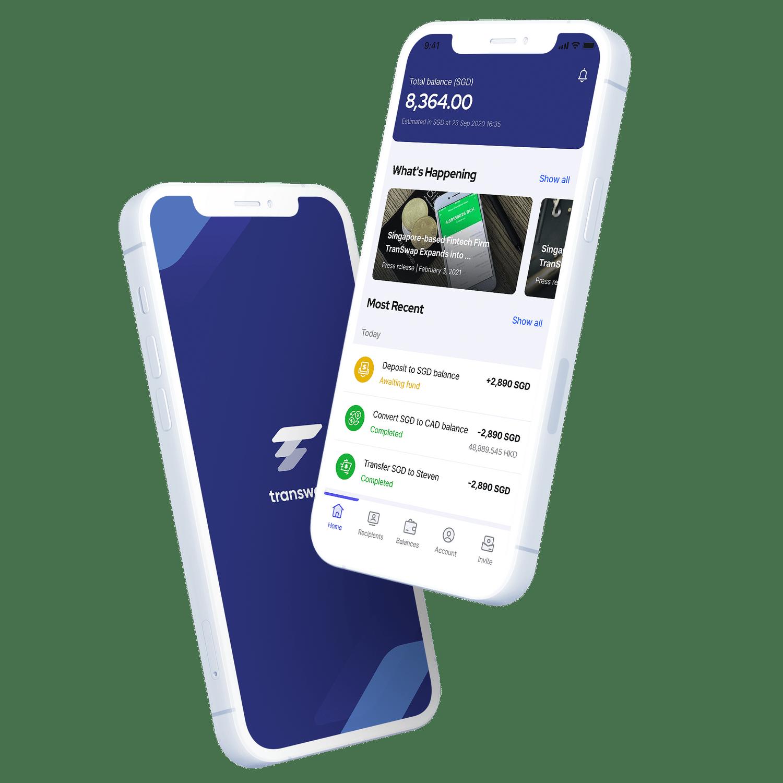 Transwap Mobile App
