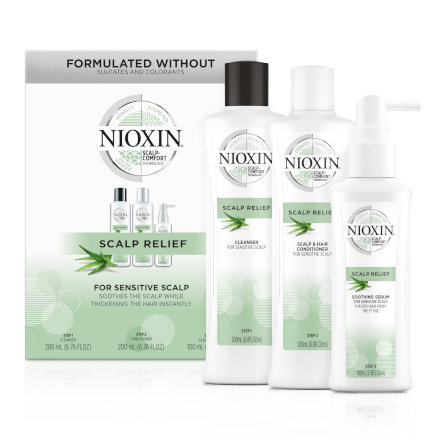 Scalp Relief System Kit