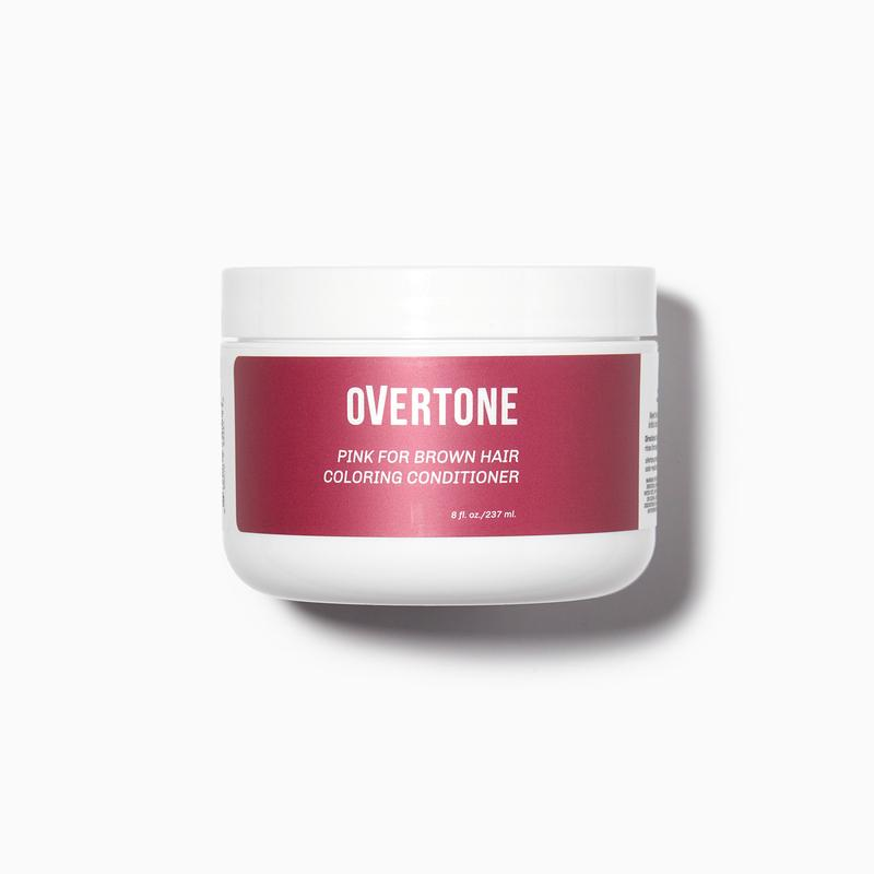 Pink for Brown Hair Coloring Conditioner