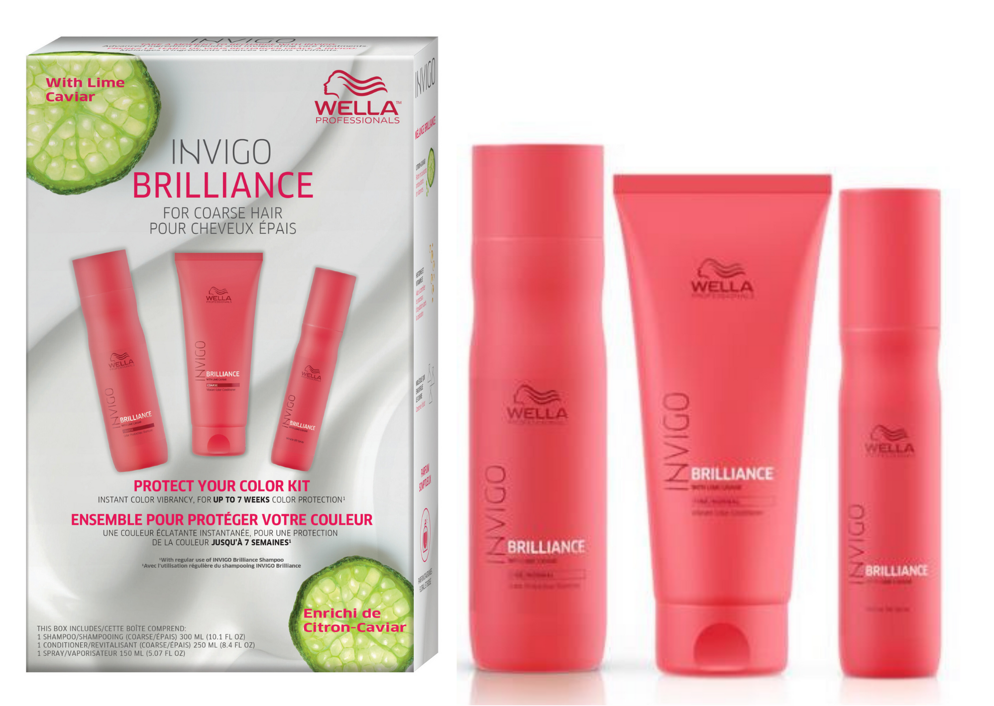 Protect Your Summer Color Kit for Coarse Hair