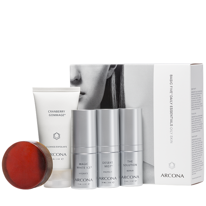 Basic Five Daily Essentials Oily Skin