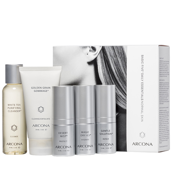 Basic Five Daily Essentials Normal Skin