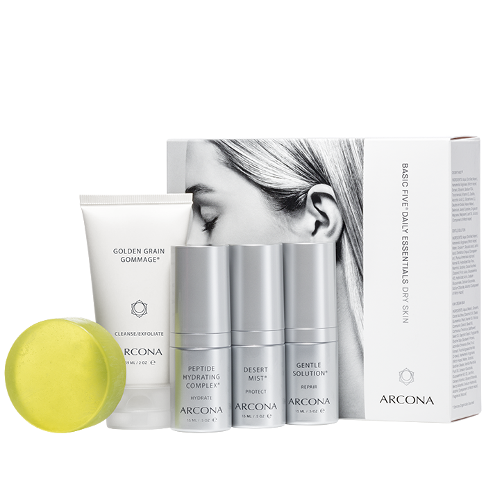 Basic Five Daily Essentials Dry Skin
