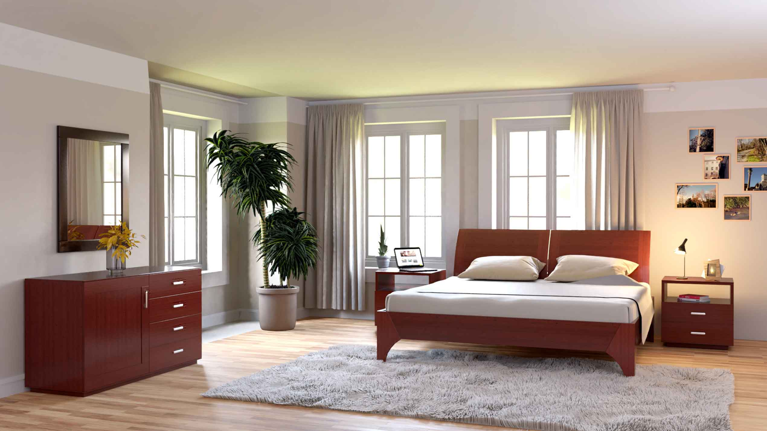 The Waldeck 5 piece bedroom set from Quagga Designs