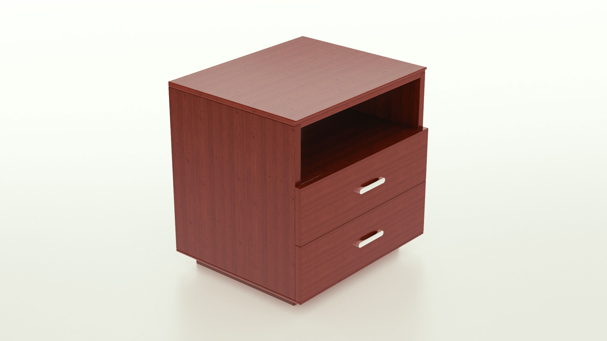 The Waldeck nightstand from Quagga Designs