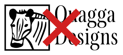 Old Quagga Designs logo.