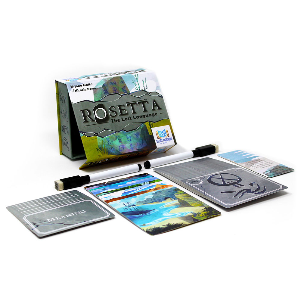 Rosetta: The Lost Language Box and Components.