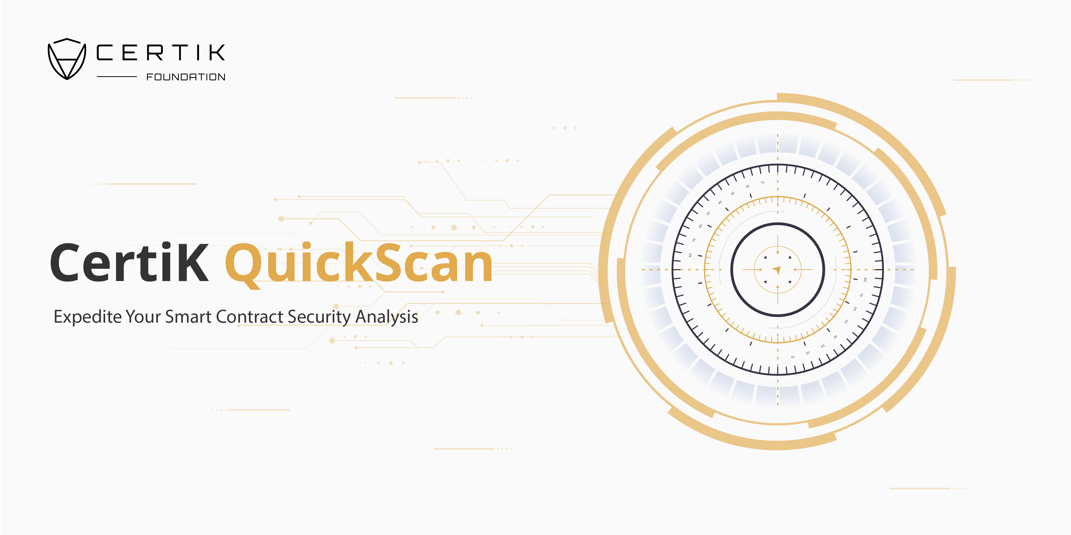Expedite Your Smart Contract with CertiK QuickScan
