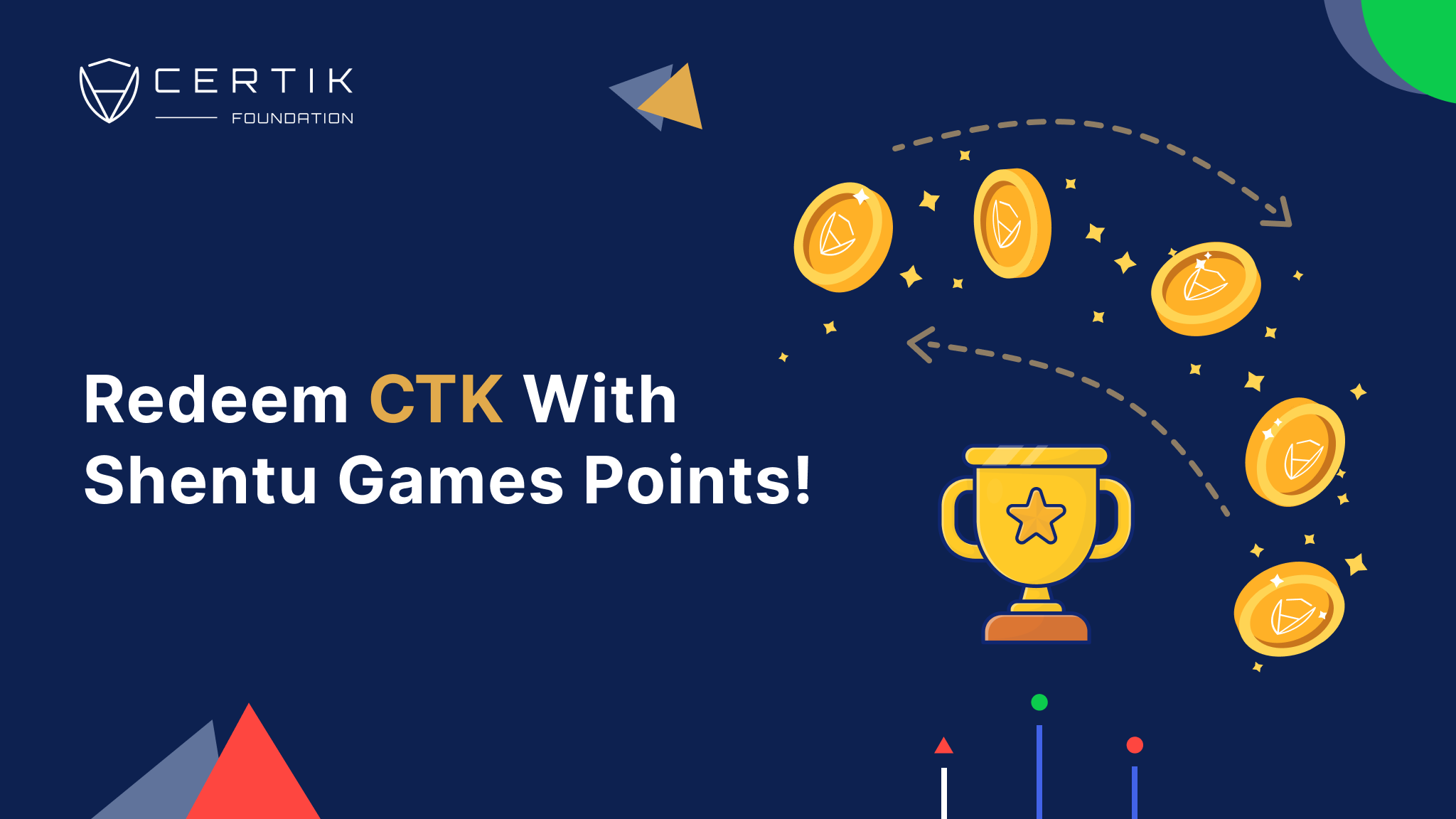 Redeem CTK With Shentu Games Points