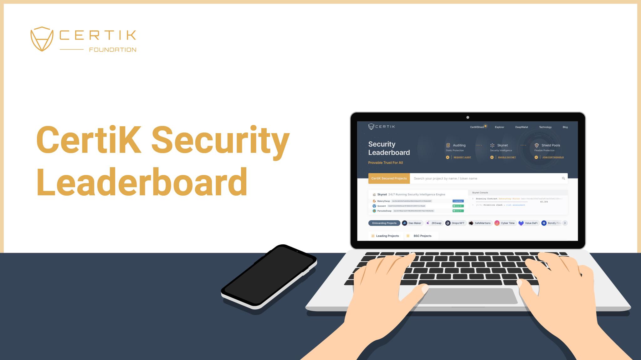 CertiK Security Leaderboard