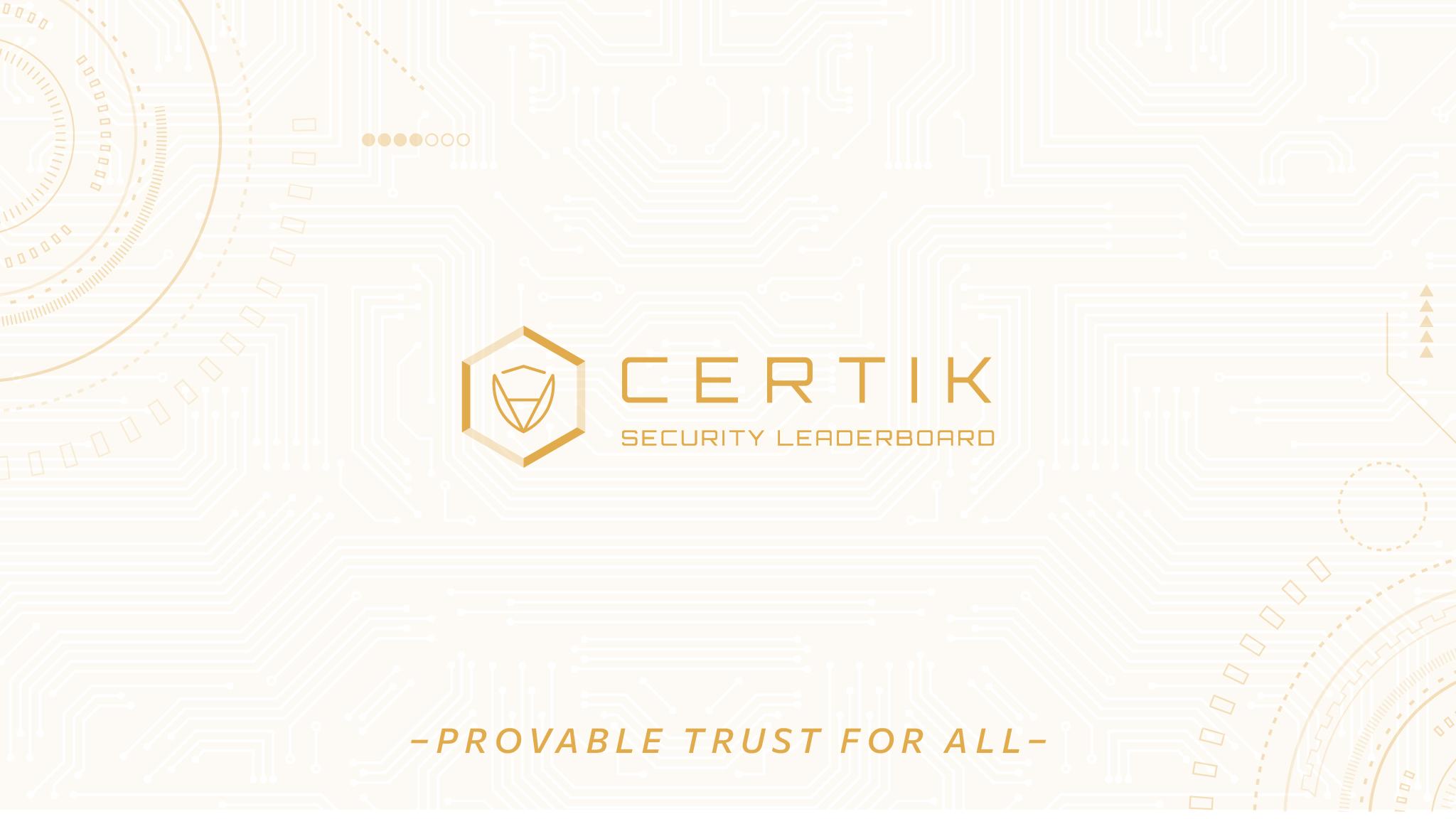 The CertiK Foundation: Twitter Revamp!