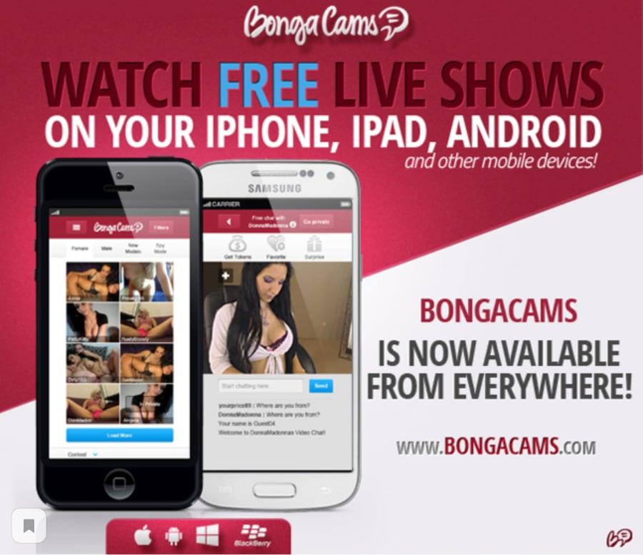 BongaCams Mobile App