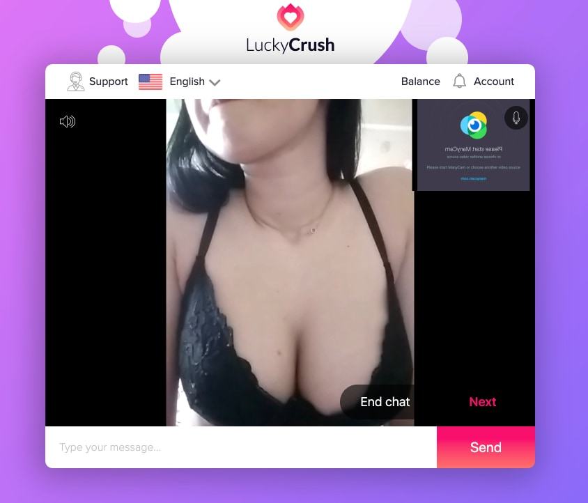 LuckyCrush Random Sex Chat