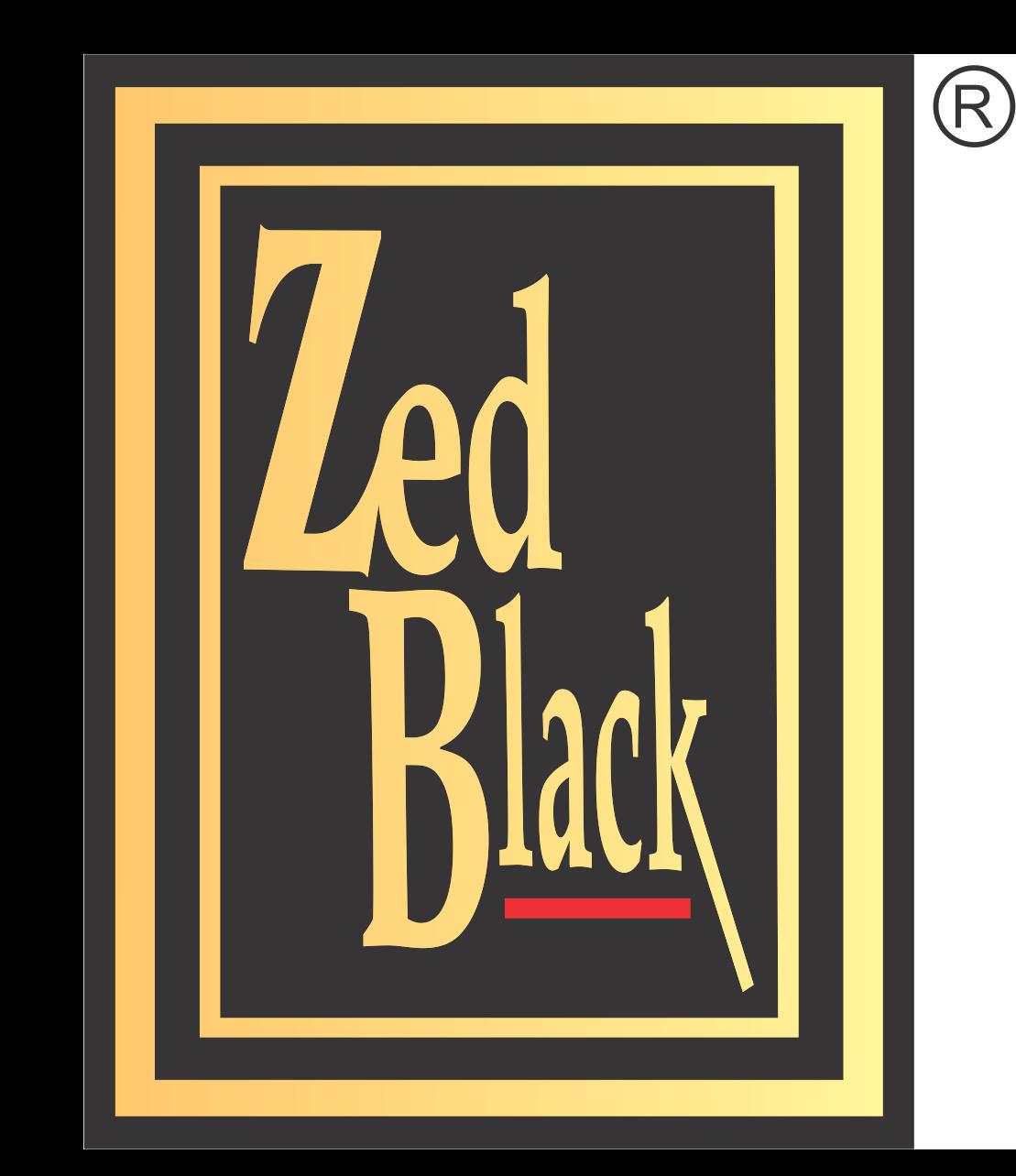 zed black small size logo