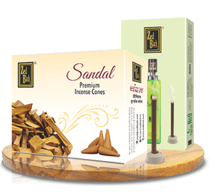 zed black bamboless dhoop cones