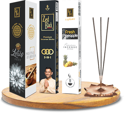 zed black agarbatti premium incense sticks