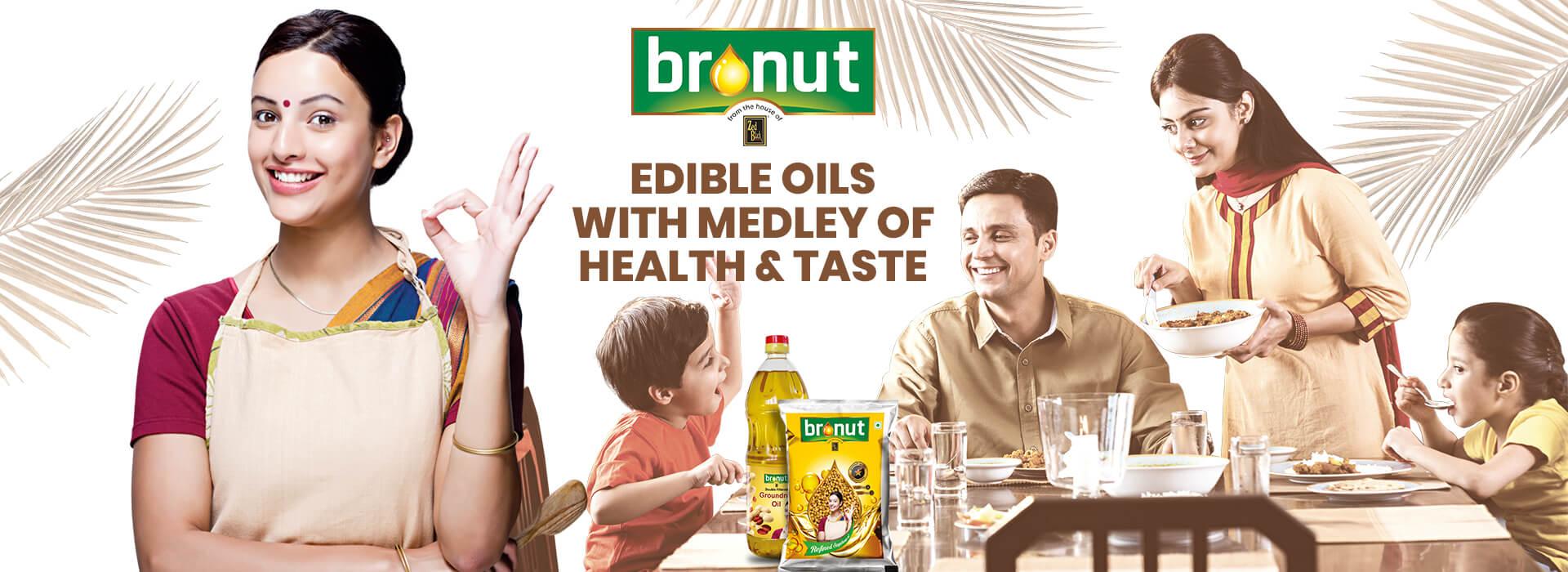 bronut edible oils