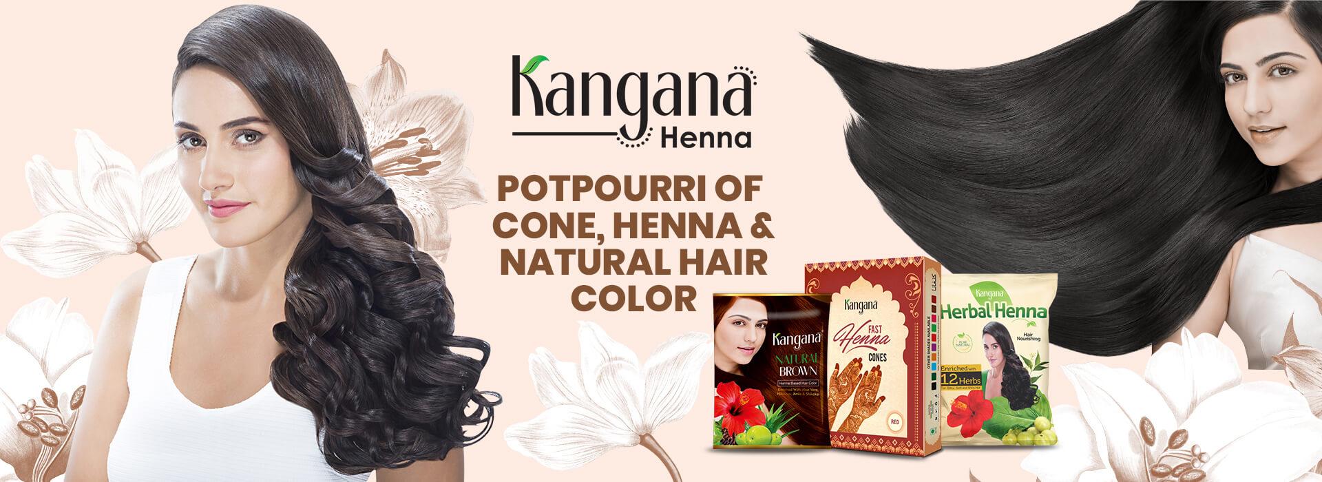 kangana henna potpourri of cone natural hair color