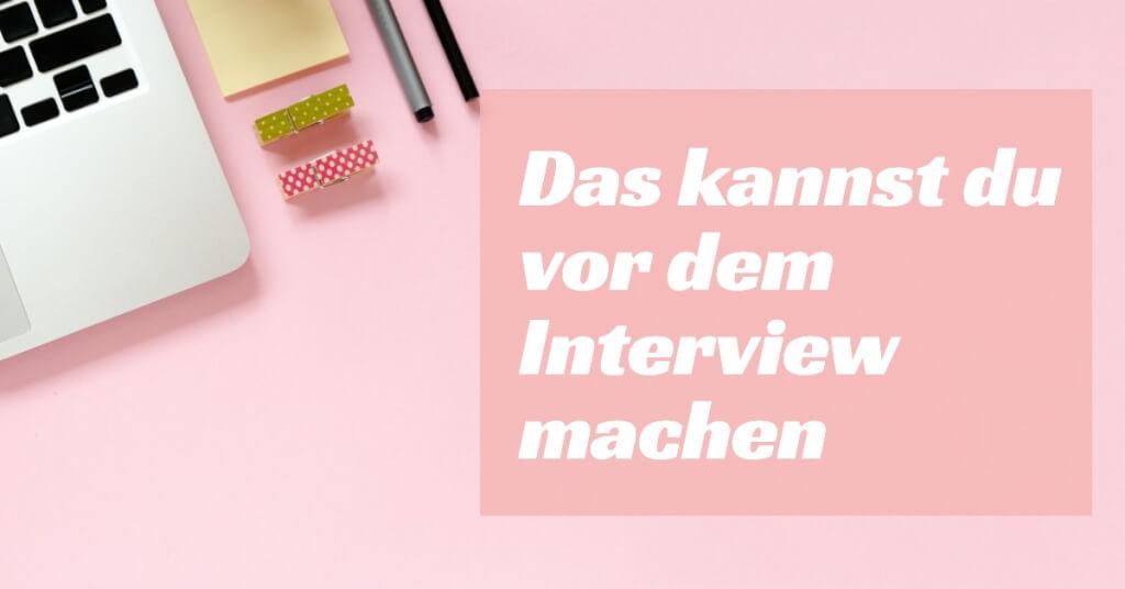 Das kannst du kurz vor dem Interview machen So wirst du zu einem grandiosen Interviewgast
