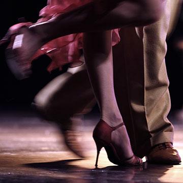 social dancers