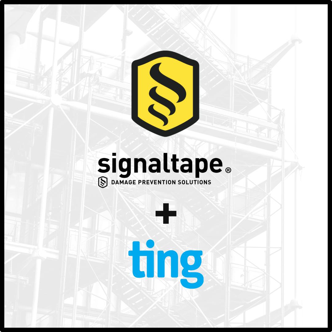 signaltape + ting