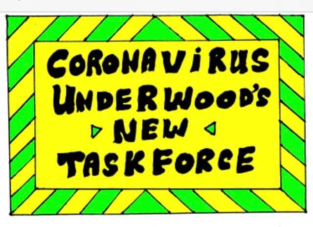 Coronavirus, Underwood's New Taskforce