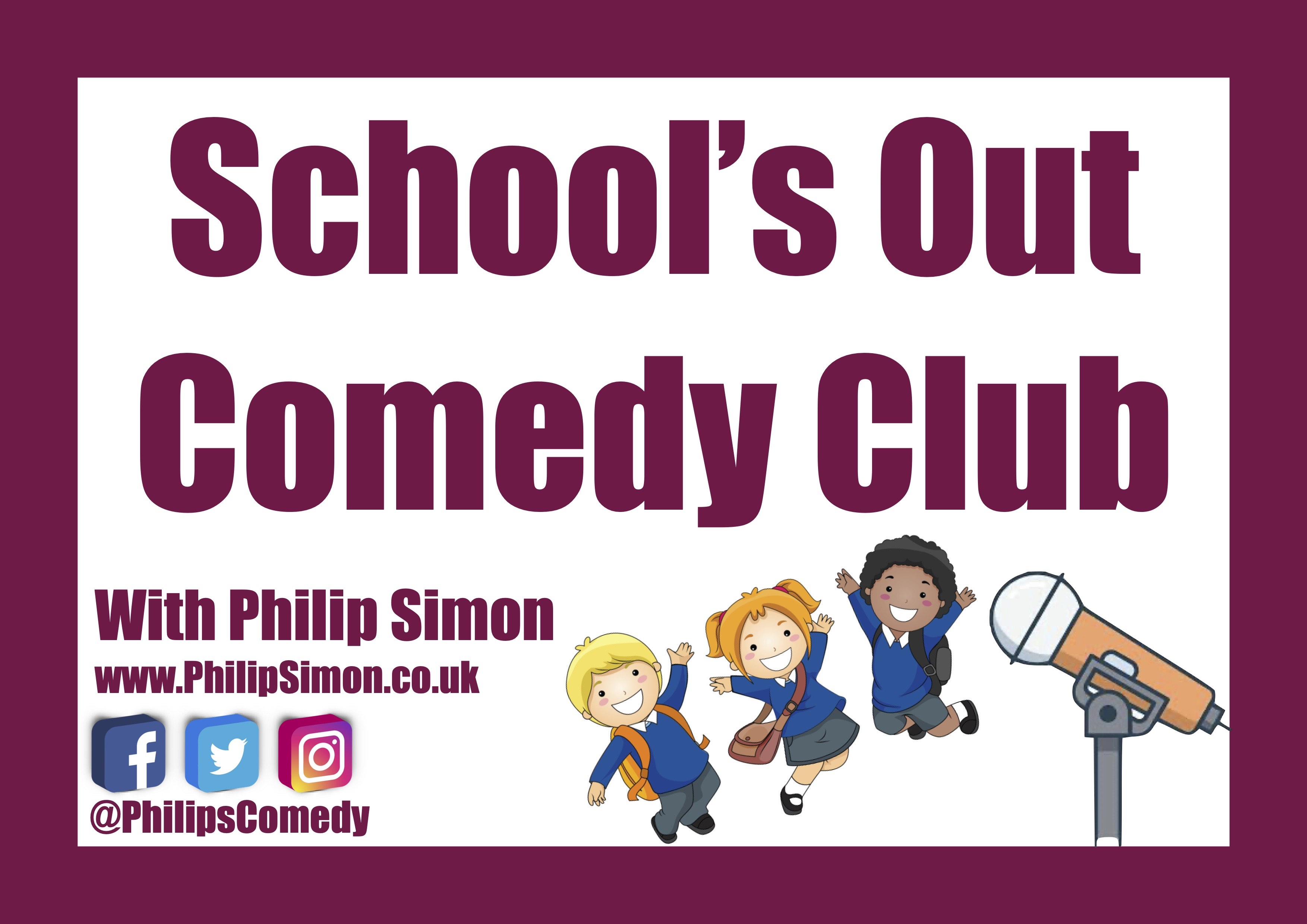 School's Out Comedy Club Live Stream