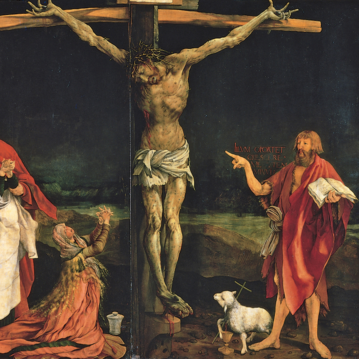 "Matthias Grünewald, ""Isenheim Altarpiece"" (1512–1516)"