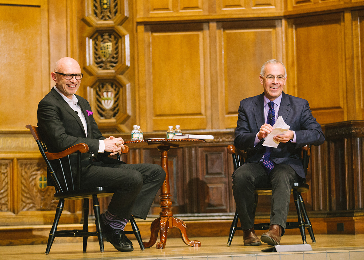 Character, Flourishing & the Good Life: A Conversation with David Brooks and Miroslav Volf