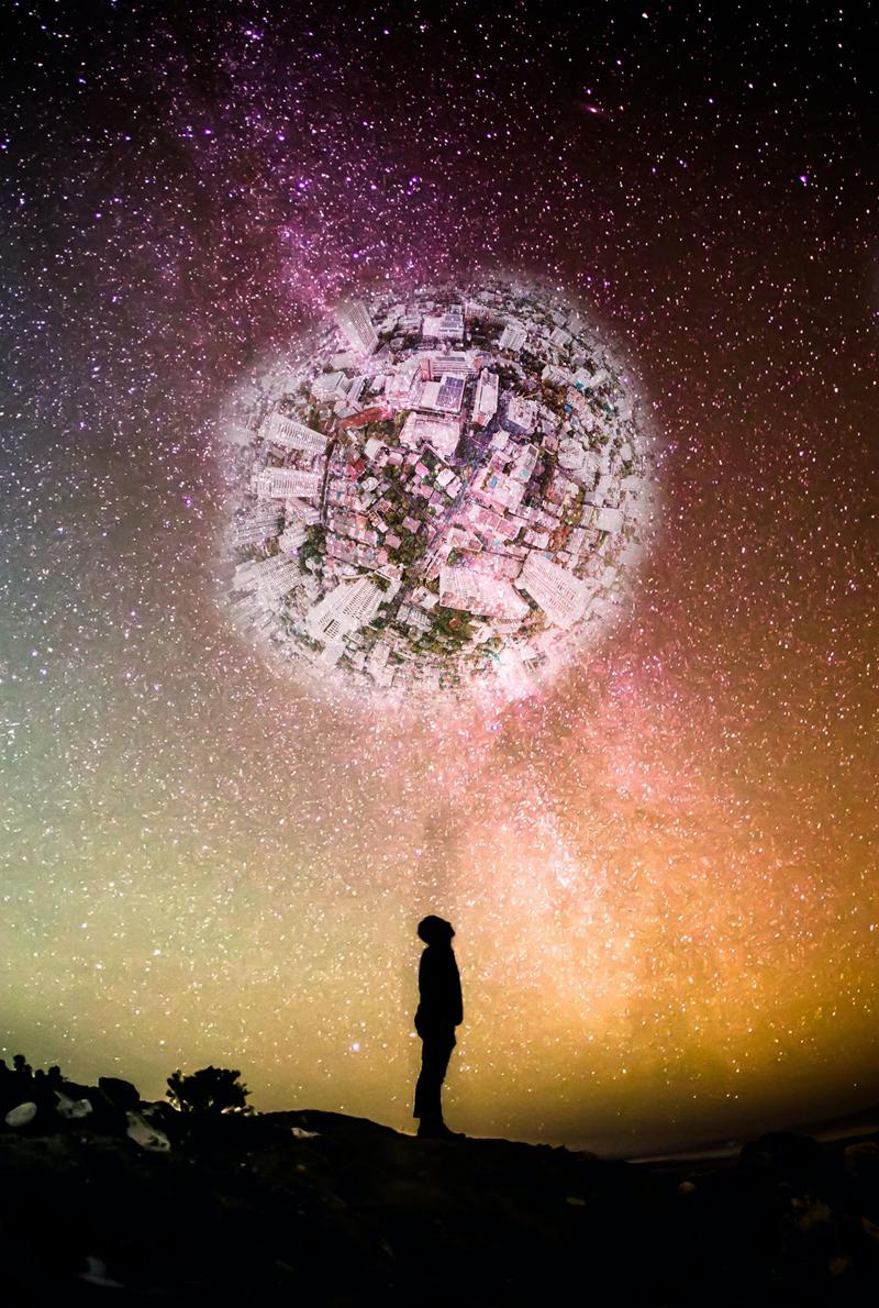 Man, Universe, Globe, Globalization